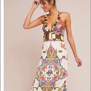 Anthropologie Les Arcades dress by Cleobella